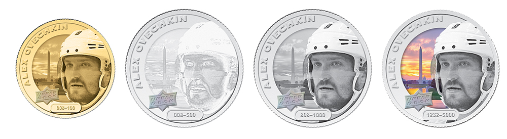 Alex Ovechkin Coins