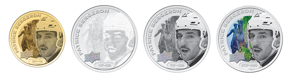 Patrice Bergeron Coins